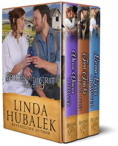 Brides with Grit Series, Books 7-9 (Brides with Grit Box Set Book 3) (The Pioneer Woman Season 9)