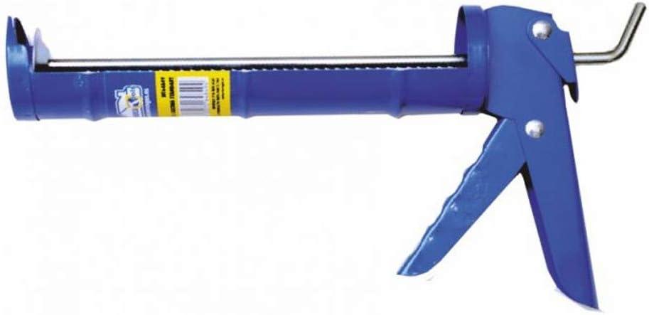 Pistola Silicona Estandar con cremallera | Aplicador de adhesivos y selladores | Medida 9