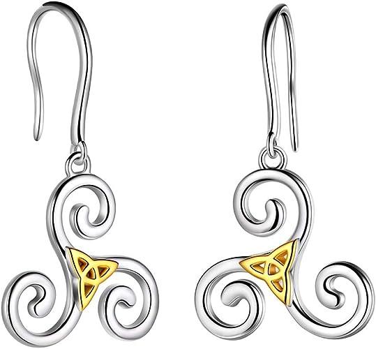 Triskeles Earrings