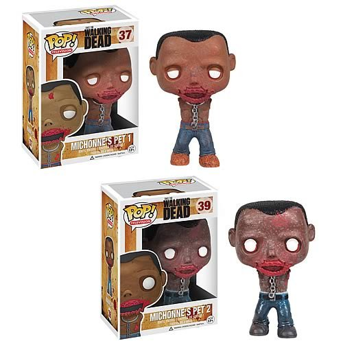 Walking Dead Michonne's Pet Walkers Pop! Vinyl Figures Set