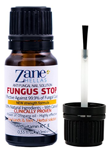 Fungus Stop. Kill 99.9% of nail fungus. Anti fungal Nail Solution. Toenails & Fingernails Solution. 0.33 oz -...