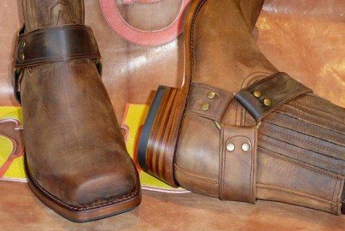 Sendra Boots 8286MO Bottes marron Avec Tire-botte de marque Mosquito®