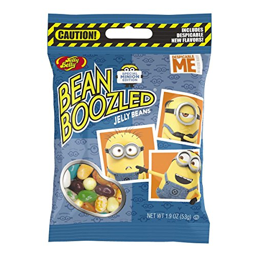 Jelly Belly BeanBoozled Minion Edition Jelly Beans, 1.9-oz, 12 Pack -