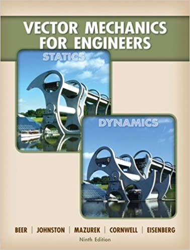 vector mechanics for engineers statics and dynamics 12th edition solution manual