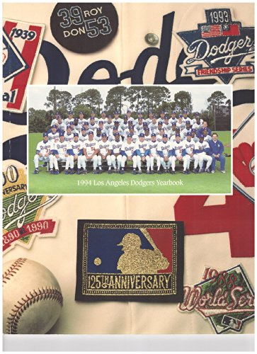 1994 Los Angeles Dodgers Yearbook (125th Anniversary Edition)