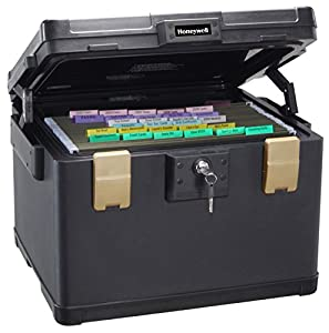 Honeywell 1 Hour Fire-Safe Waterproof Filing Safe Box Chest