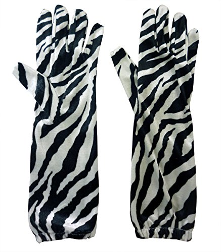 Black And White Zebra Print Velvet Feel Long Length for sale  Delivered anywhere in USA
