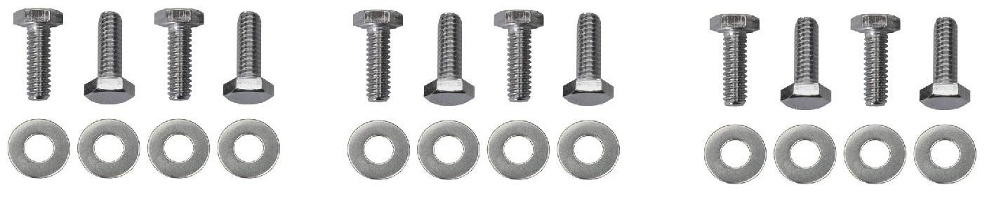 Trans-Dapt 9781 Chrome 3/4' Hex Head Valve Cover Bolt Set Trans-Dapt Performance