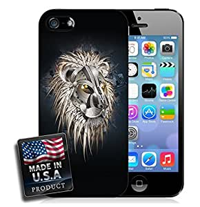 linJUN FENGRobot Lion iPhone 5/5s Hard Case