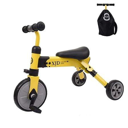Zhijie Andador para niños Plegable Triciclo portátil Ligero ...