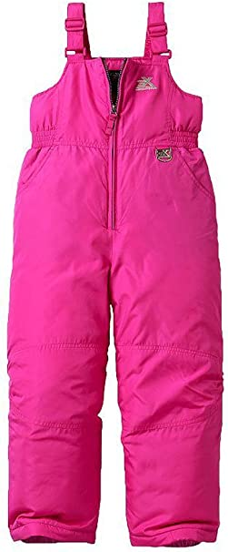 Skiing and Snowboarding Water Resistant Girls Lacey Snow Bibs Overall ZeroXposur Girls Snow Pants Iris, 6X Long