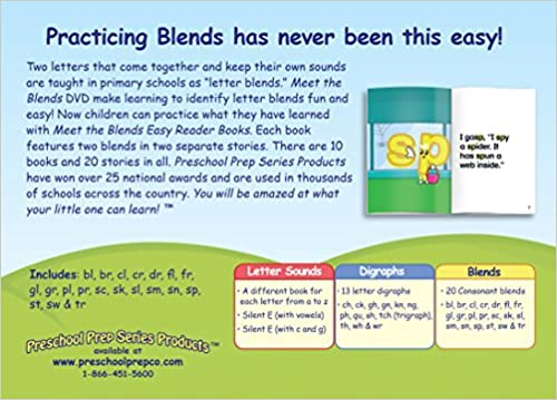 Meet the Phonics - Blends - Easy Reader Books: Kathy Oxley ...