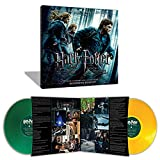 Harry Potter & the Deathly Hallows Part 1 Original Motion Picture Soundtrack Exclusive Green and Yellow 2XLP Vinyl