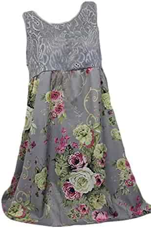 feb5a4fef0 Nanquan Women Lace Tunic Mini Dress Pleated Sleeveless A-Line Skater Dresses