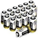 [UL Certified] CR123A 3v Lithium Battery, Keenstone 1600mAh 18pack Primary Lithium Batteries CR123A Batteries for Flashlight Torch Microphones(Not Compatible with Arlo Cameras) Reviews