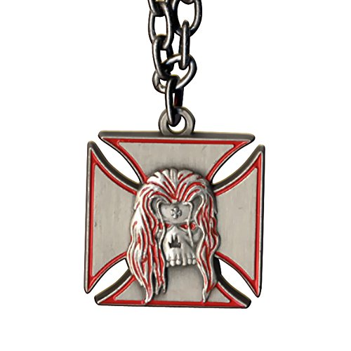 WWE Triple H Symbol Pendant Necklace Red Outline (Wwe Pendant)