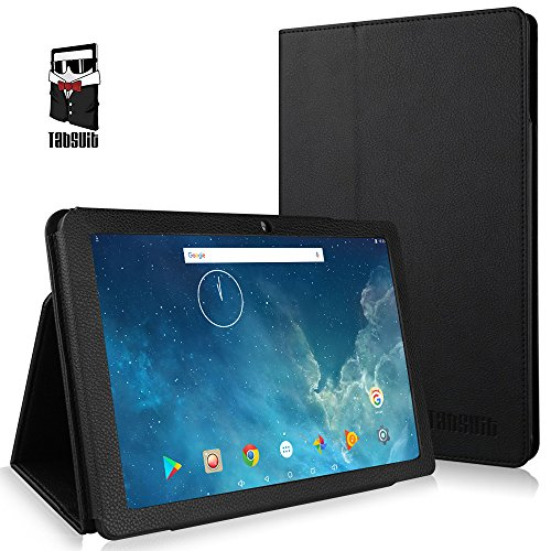 TabSuit Dragon Touch X10 10.1 Inch PU Leather Case Cover Stand for Dragon Touch X10 10.1 Version Tablet (Not Compatible Dragon Touch X10 10.6 inch Tablet) (Dragon Touch Tablet Cover)
