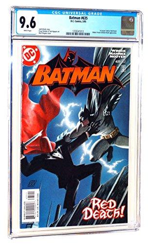 Batman #635 CGC 9.6 NM+ WP 1st Jason as Red Hood 2005 DC Comics (1 635)