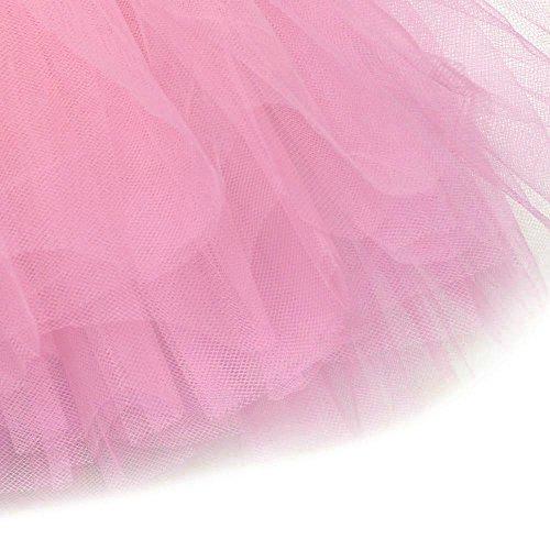 LULIKA Adulte Couches Extensible De Pretty Lastique Tissu 5 Tulle La Robe Femme Tutu Mode Rose Jupe Girl Doux vWAOrv4qw
