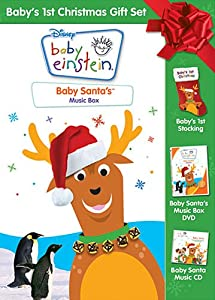 Amazon.com: Baby Einstein: Baby's 1st Christmas Gift Set: Baby ...