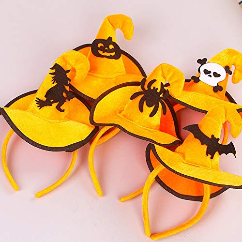 Emily Colorful Witch Skeleton Buckle Christmas Hooks Head Buckle Halloween Props Multi-Color