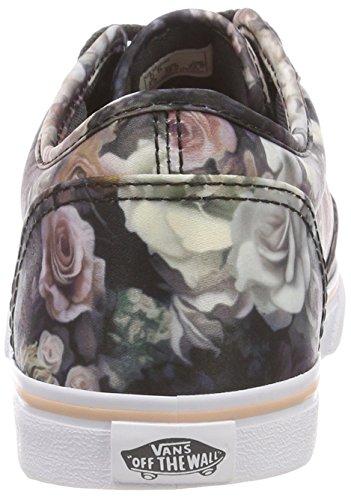 Textile Atwood Cloud Mujer Multicolor Vans Low floral Zapatillas Para Rose Uex satin wEdSn1Zq