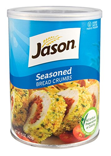 Jason, Seasoned Bread Crumbs, 15oz (Pack of 6)