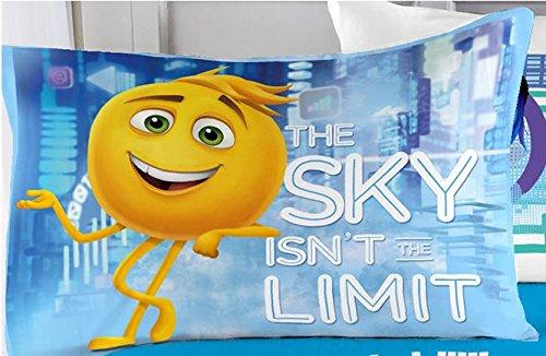 emoji The Movie The Cloud 4 Piece Microfiber Full Sheet Set