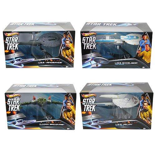 Hot Wheels Star Trek Wave 1 Vehicle Case