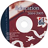 Education State Rankings 2004-2005 CD-PDF 9780740109348