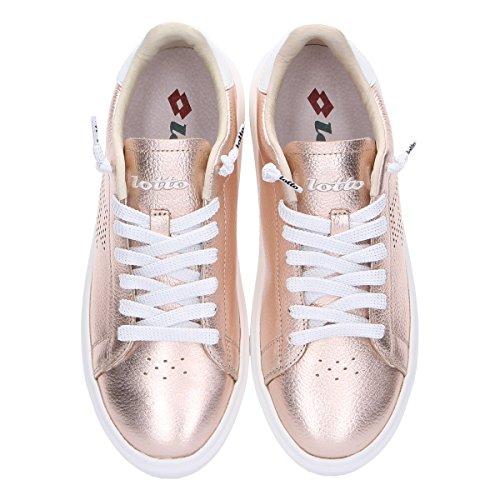 Leggenda L4610bronze Lotto Sneakers Pelle Bronzo Donna Bwnzq0A