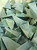 Polishing Media Green Wedge 1 in Rock Jewelry Vibrating 10 Pounds