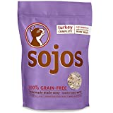 Sojos Complete Natural Grain Free Dry Raw Freeze Dried Cat Food Mix, Turkey, 2-Pound Bag