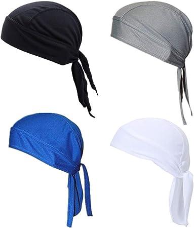 Travistar Bandana da Uomo Cappellino da Ciclismo Ciclismo Sport cap Protezione UV Cappellino sotto casco