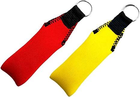 Neoprene Floating Keyring Key Float Buoy for Boating Yachting Sailing Yellow
