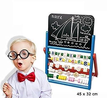 Pizarra para niños + ábaco - Juego y juguete para el ...