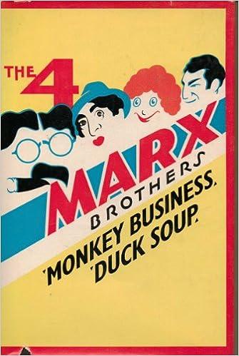 Marx Bros Monkey Business vintage movie poster print