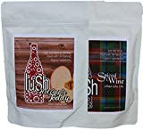 blender 84 oz - Lush Wine Mix - Organic Mix for Delicious Wine Slushie & Wine Cocktail (Combo 2 pack Autumn/Winter, 2- pack)