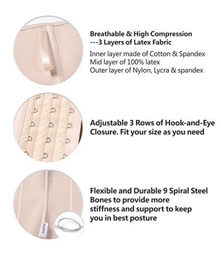 f8ce9006bae ... Shapewear Camellias Women s High Waist Trainer Latex Long Torso Cincher  Corset For Weight Loss. 🔍. Previous  Next