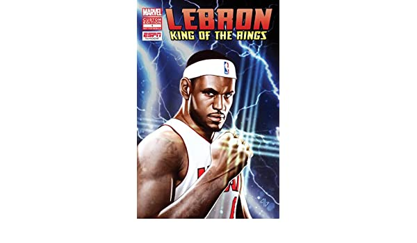 f24dff15818 Marvel Comic - LEBRON JAMES- KING OF THE RINGS! Custom Edition  1  Christos  Gage  Amazon.com  Books