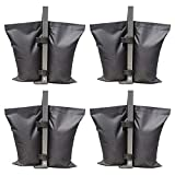 ABCCANOPY Weights Bag, Leg Weights for Pop up Canopy Tent Weighted Feet Bag Sand Bag 4pcs-Pack