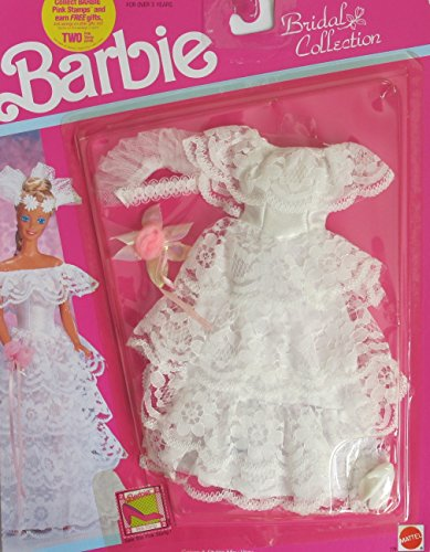 BARBIE BRIDAL Collection WEDDING FASHIONS Outfit (1990 Arco Toys, (Barbie Bridal Collection)