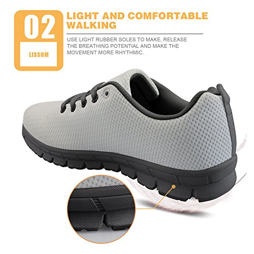 Lightweight Jogging 2 Sneaker Comfort Shoes U FOR Womens Running Fish Sports Athletic DESIGNS cqTU1xaWZO