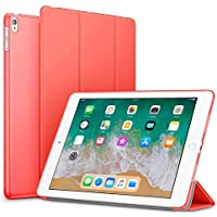 Robustrion Smart Slim Trifold Hard Back Flip Stand Case Cover for iPad Air 3 2019 10.5 inch - Red