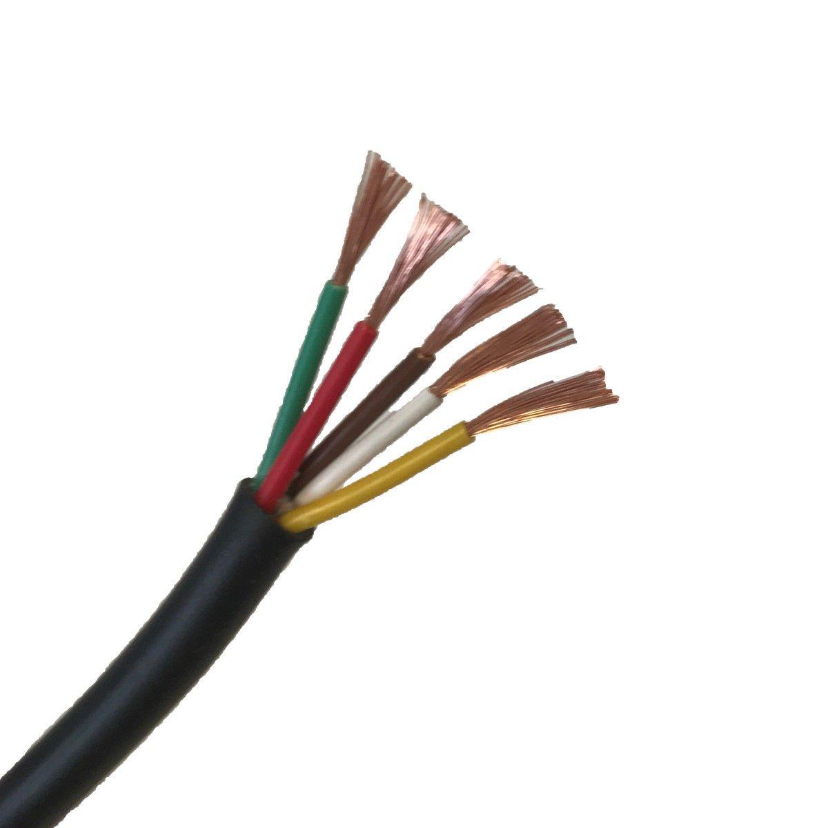 Wire4u 12/V 24/V Automotive 2//3//4//5//7/Core Thinwall Rosso//Nero Auto Cavo Filo Rotondo//Piatto