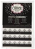 Thermoweb Glitter Dust Photo Corners 84/Pkg-Silver