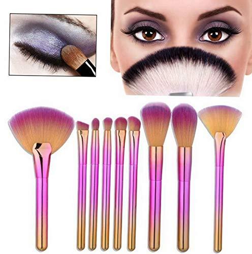 - Kaputar 9 Pcs Gradient Makeup Brush Set Eye Shadow Brush Cosmetics Blending Brush Tool | Model MKPBRSH - 532 |