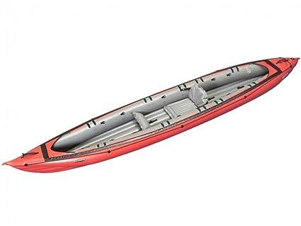gumotex - Seawave Rojo Kayak hinchable 044119-r (5 C/11 C) C/Aleta ...