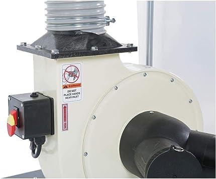 SHOP FOX W1685 1.5-Horsepower 1,280 CFM colector de polvo: Amazon.es: Bricolaje y herramientas