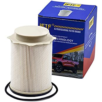 fuel filter 68157291aa for 2010-2017 dodge ram 2500, 3500, 4500, 5500 6 7l  cummins turbo diesel engines included o-ring precision designed element  removes